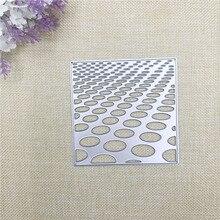 Julyarts Square Circle Metal Cutting Die Stencil Troqueles De Corte Scrapbooking Card Making Crafts Cut