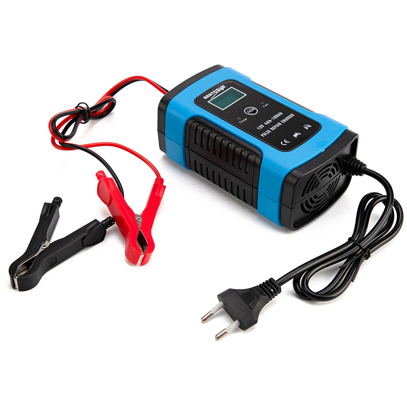 Image 2 - Full Automatic Car Battery Charger 110V to 220V To 12V 6A Intelligent Fast Power Charging Wet Dry Lead Acid Digital LCD Display-in Battery Charging Units from Automobiles & Motorcycles