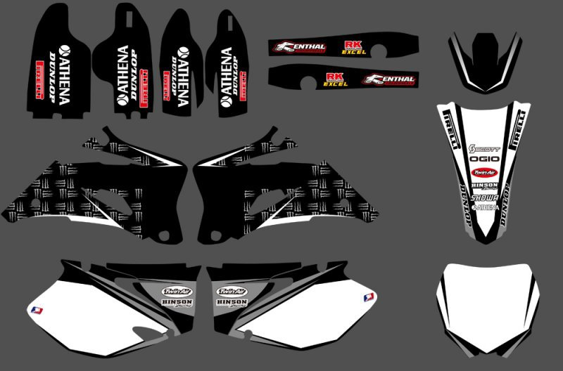 GRAPHICS & BACKGROUNDS DECALS STICKERS Kits For Yamaha YZ250F YZ450F 2006 2007 2008 2009 YZ 250F 450F YZ250 YZ450 F unipak клей unitec gt 18 10 мл