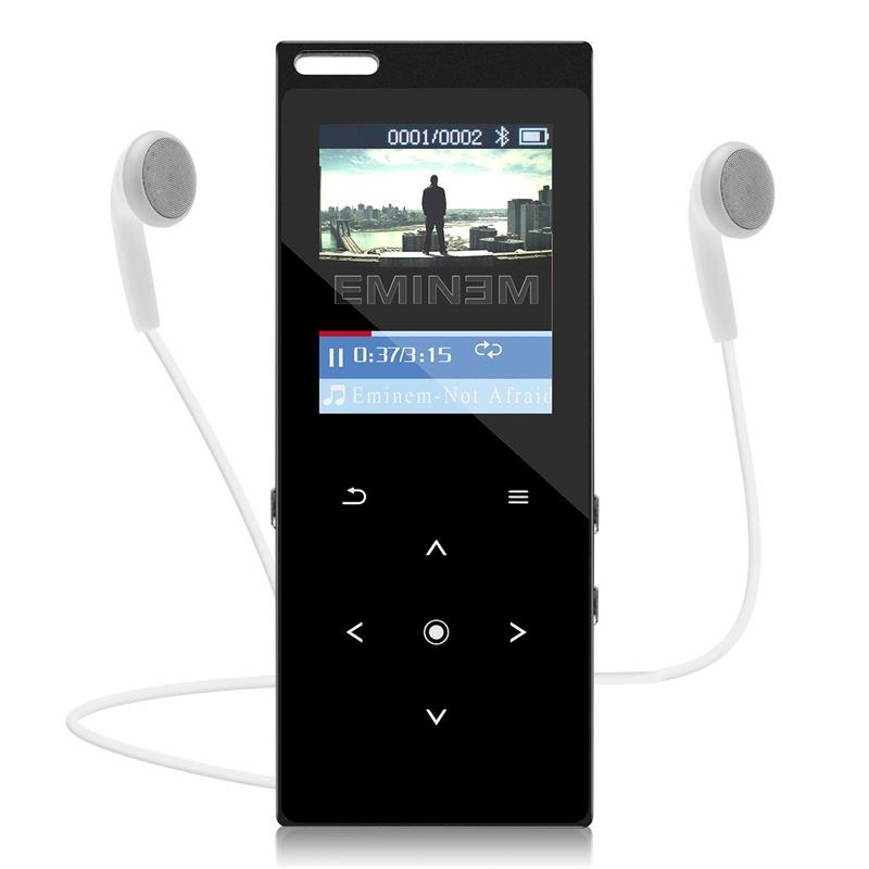 Mp4 Player Mit Bluetooth 8 Gb/16 Gb Mp4 Musik-player Mit Lautsprecher/fm Raido/voice Recorder /video-player Unterhaltungselektronik 128 Gb Tf Karte Erweitert
