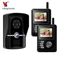 2 4G 2 4 TFT Wireless Video Door Phone Intercom Doorbell Home Security Camera Monitor With