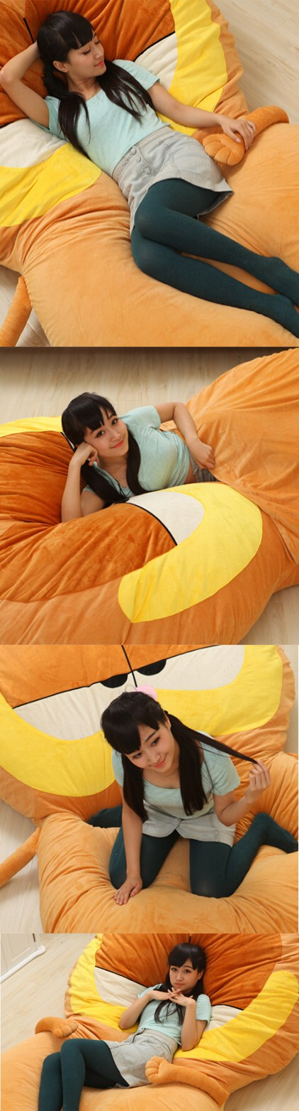 Fancytrader 220cm X 150cm Huge Giant Cute Garfield Bed Carpet Sofa Tatami, Great Gift! Free Shipping FT90351 (6)