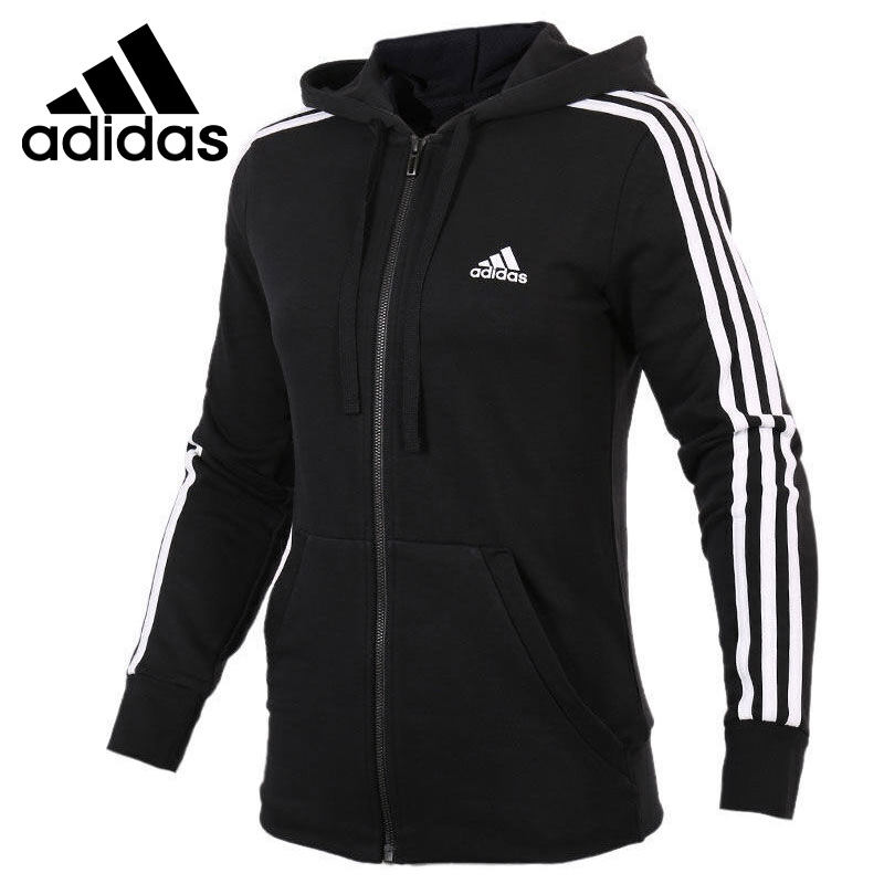 Original New Arrival 2018 Adidas Performance Women's  jacket Hooded Sportswear original new arrival official adidas women s jacket breathable stand collar training sportswear
