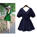 5XL Лето 2016 Плюс Размер Платья Повседневные Платья Большой Размер Халат Vestidos Jurk American Apparel Vetement Femme Платье Cortos Kleid