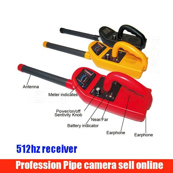 FM 512HZ High Quality Of Depth Sonde &receiver For Pipe Locator 512Hz Locator For Underground Pipe Inspection 512hz Recriver