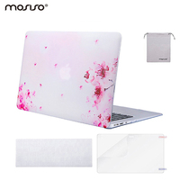 Mosiso 4 in 1 Hard Shell Case for Mac Book Air 13 A1466/A1369 2016 2017 Chrome Netbook Accessories + Silicone Keyboard cover