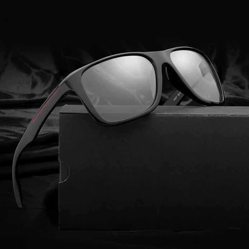 2018 Top Qualität Fahren Photochrome Sonnenbrille Für Männer Frauen Polarisierte Chameleon Verfärbung Quadrat Sonne Gläser Männer Oculos