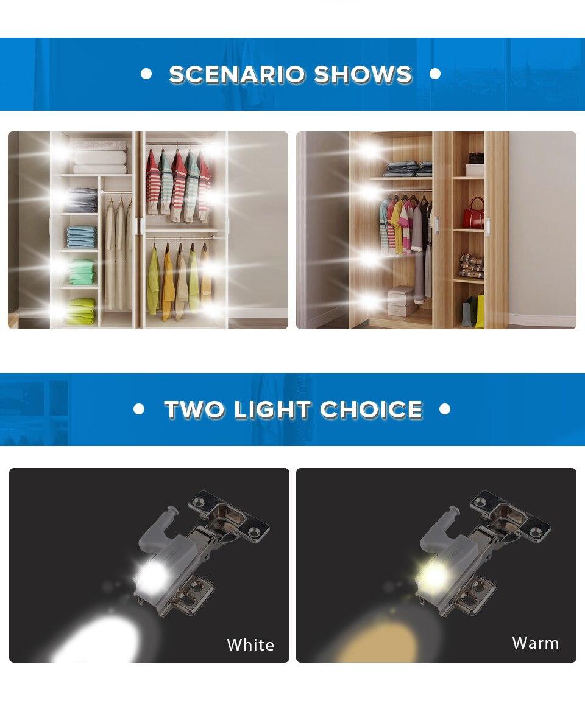 Lighting Cabinet 0.25W Bedroom 4