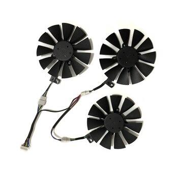 цена на gtx1080 gtx980ti gtx1060 gtx1070 GPU VGA Graphics Cooler Fan For ASUS STRIX GTX 1070 1080 980Ti 1060 Video Cards Cooling System