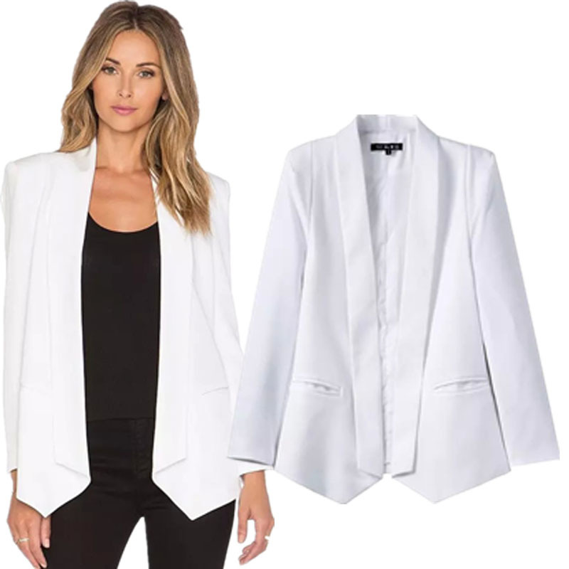Collection White Jackets For Ladies Pictures - Reikian