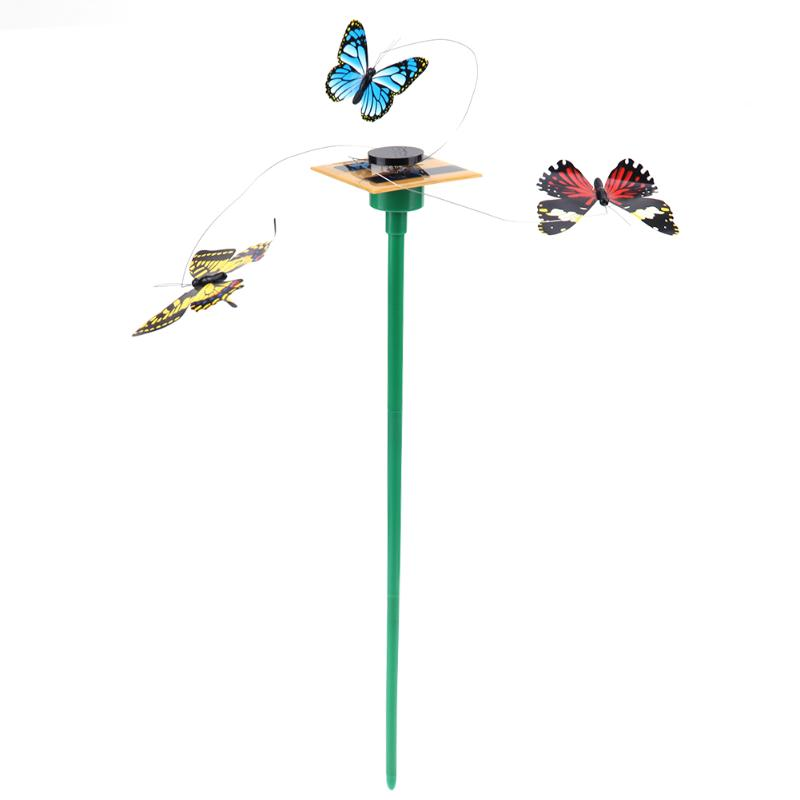 Вибрации солнечные Танцы развевающиеся полет бабочки игрушка Книги по искусству домашний сад двор Аксессуары ...