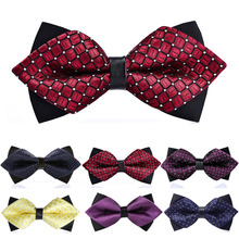1PC New High Quality 15 Colors Formal Commercial Fashion Women Men Bow Ties Clothing Accessories