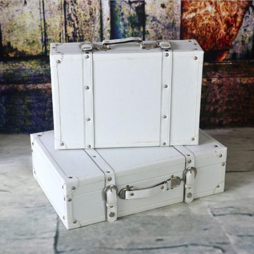 9Pcs/set Portable Decorative Suitcase for Wedding Photographic