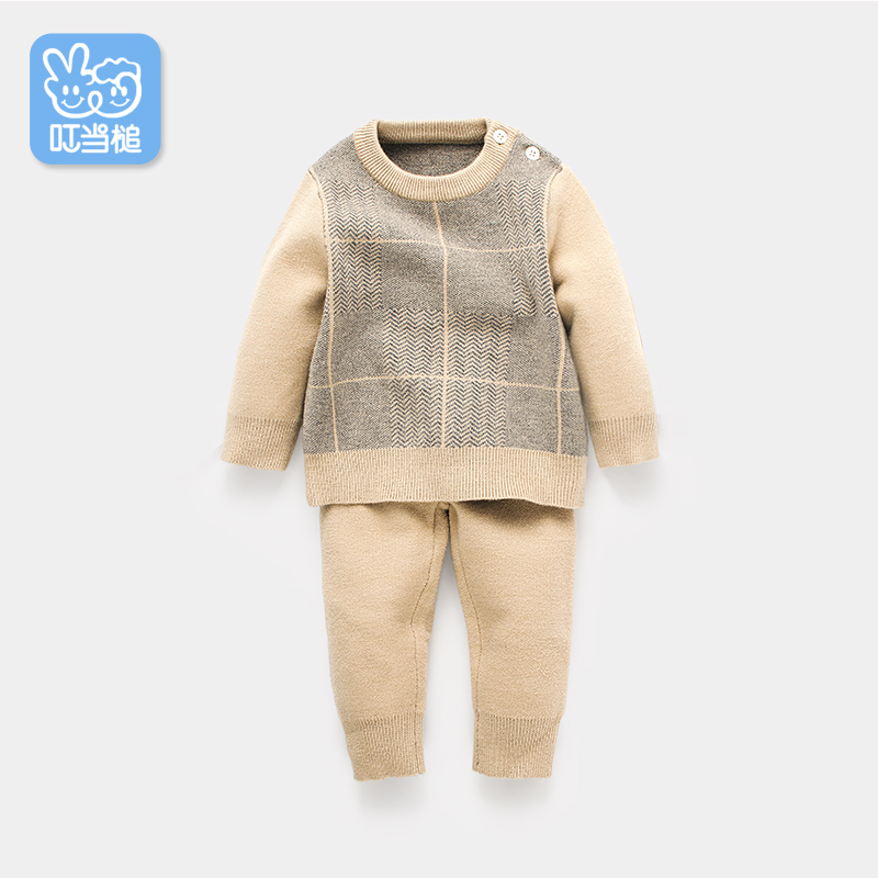Dinstry Baby Clothes Spring Autumn Knitted Pullovers+Pants 2pcs set turtleneck Sweaters Warm Outerwear OutfitsDinstry Baby Clothes Spring Autumn Knitted Pullovers+Pants 2pcs set turtleneck Sweaters Warm Outerwear Outfits