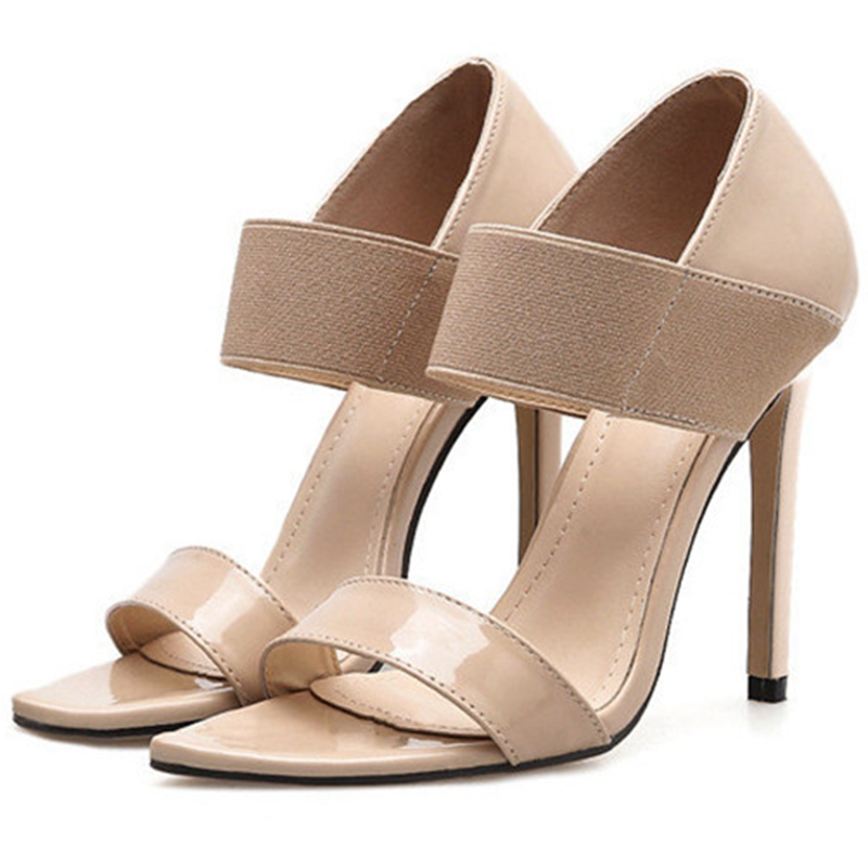 Hohe Gren Ferse Frauen Echtes Mujer Zapatos 2019 Slip Sommer Leder on Schuhe De Mode 34 Kleid Anmairon 43 Einfache MVpzSqUG