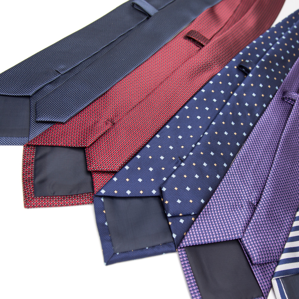 XGVOKH Brand Neckties Striped Ties For Men 8cm Width Classic Mens dress Business Neckwear Polyester Tie shirt Corbatas Gravata in Men 39 s Ties amp Handkerchiefs from Apparel Accessories
