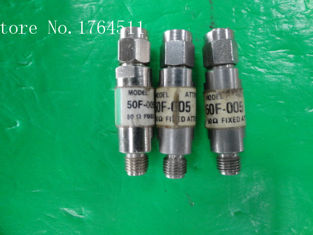 [BELLA] JFW 50F-005 DC-2GHz 5dB 2W SMA Attenuator  --10PCS/LOT