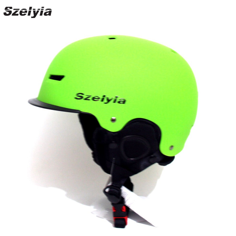 Szelyia New Skiing Helmet Winter snowboard helmet Equipment Snow Sports Saftly Security Helmets Skate horse riding Gear 2018 ...