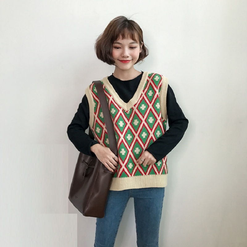 Buy argyle sweater vest and get free shipping on AliExpress.com