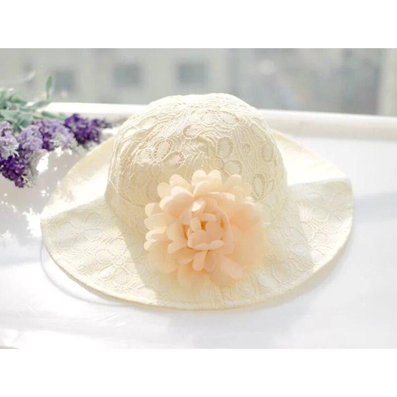 Květinové dívky klobouky Móda kbelíky Klobouky Dívky Dívky Krásné květinové dívky Sunhat dětské čepice Jarní letní dívčí dívčí oděvy
