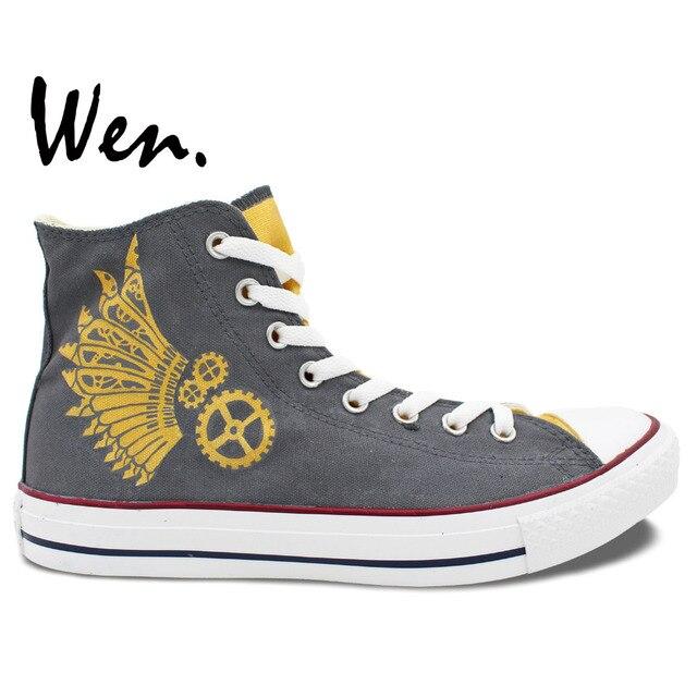 Mano Encargo De Pintados Diseño Populares Wen Mejor A Zapatos 0RH6wx 7aad681a382