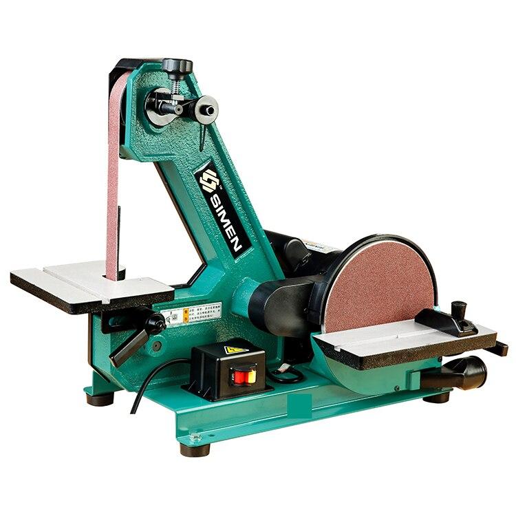 1X8 pouces papier de verre sable machine S1800 broyeur sable machine industrielle ceinture machine