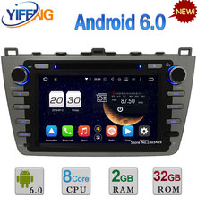 8 «Android 6.0 2 ГБ RAM 32 ГБ ROM Окта Ядро PX5 4 Г WI-FI DAB + автомобильный DVD Мультимедиа Gps-радио Плеер Для Mazda 6 Ruiyi 2008-2012