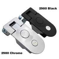 DHL 40PCS 2980 Compression Latch Panel Lock for Horsebox Motorhome Toolbox Replacement Trailers Locker Door Tack Box Lock JF1540