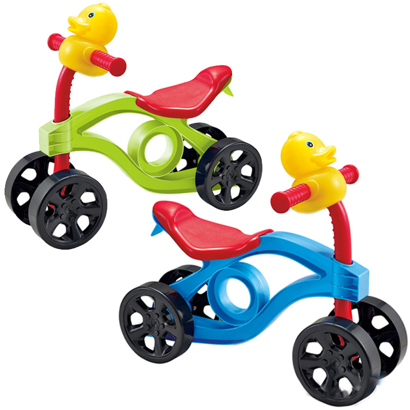 New Baby Walker Riding Toys Portable Bike No Foot Pedal Bicycle Children Four Wheel Balance Bike Scooter Baby Walker 12 14 16 kids bike children bicycle for 2 8 years boy grils ride kids bicycle with pedal toys children bike colorful adult