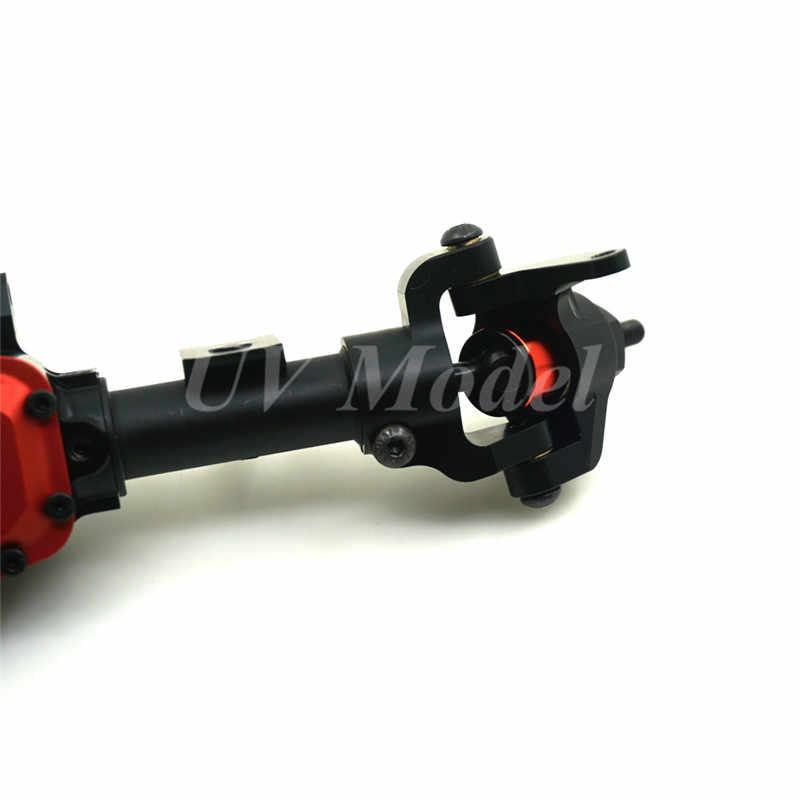 1:10 Crawler Auto Legering Front & Achteras Voor RC Cars Axiale SCX10 II 90046 90047 JEEP Rock Crawler Opgewaardeerd onderdelen