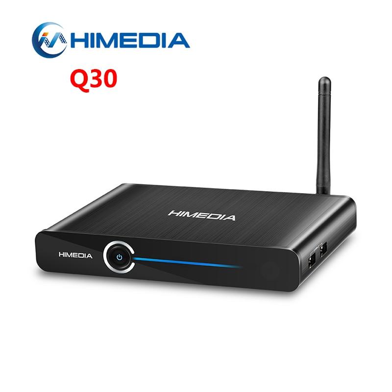 Original Himedia Q30 Android 7.0 TV Box Hisilicon HI37980 V200 Quad Core 2GB RAM 8GB ROM OTA Update WiFi 4K HD Smart Set Top Box himedia m3 quad core android tv box home tv network player 3d 4k uhd set top box free shipping