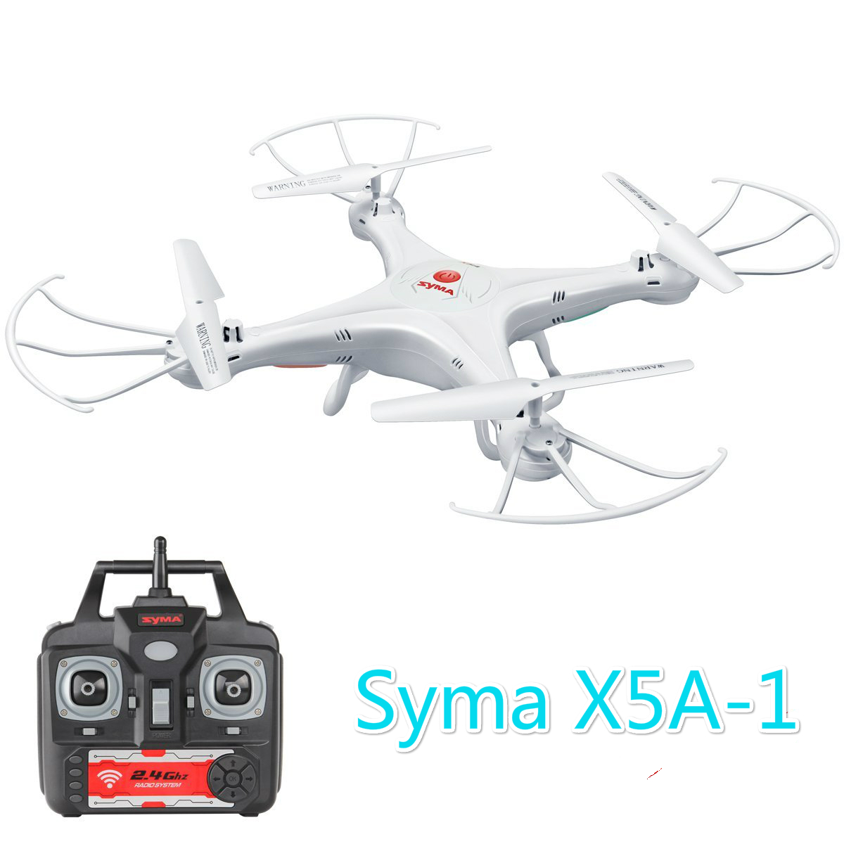 Syma X5 Explorers RC Quadcopter 2.4G 4CH with 6 Axle Gyro BNF Mode2