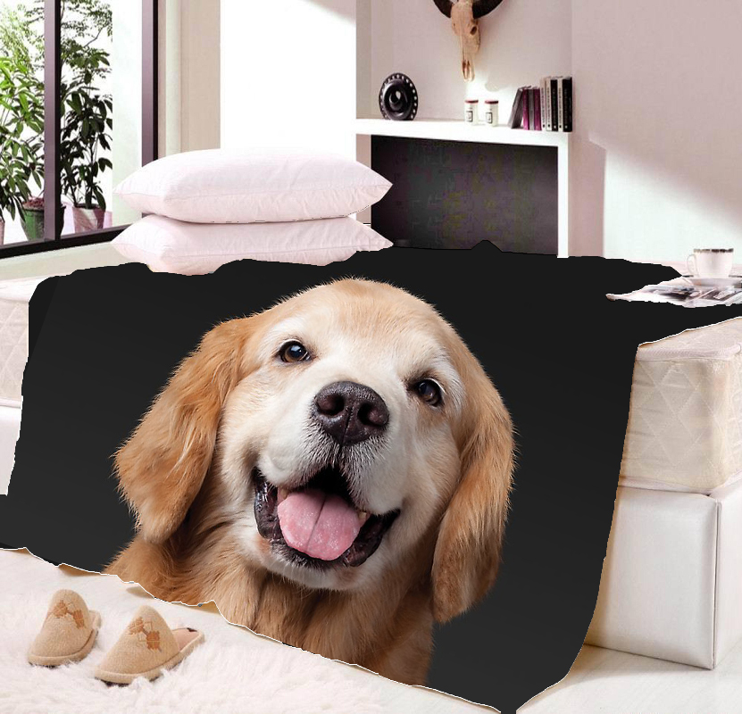 Aliexpress.com : Buy Animal Dog Cat Throw Blankets For