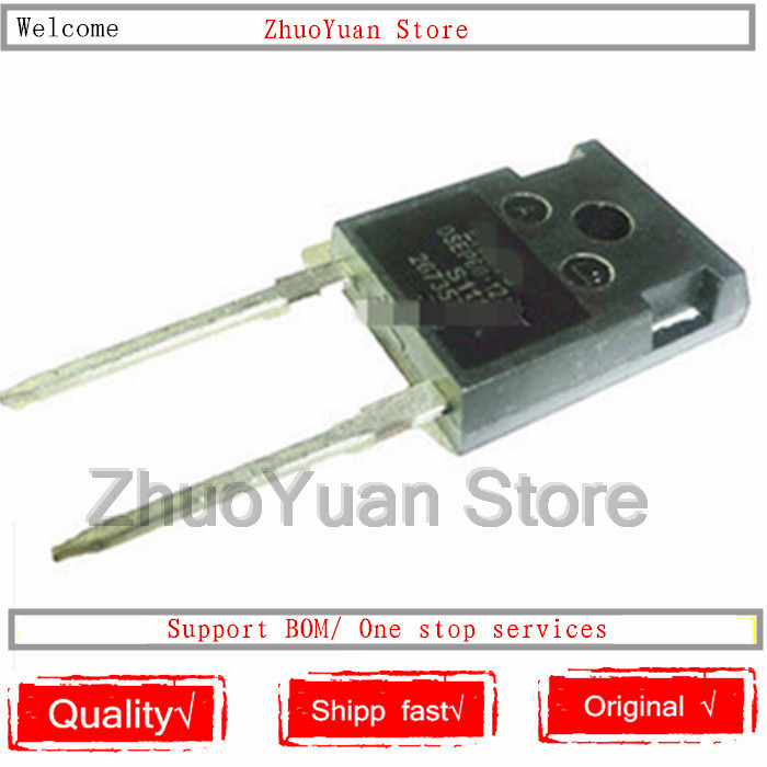 1PCS/lot DSEI60-12A DSEP60-12A TO-247 60A 1200V Single Fast Recovery Diode