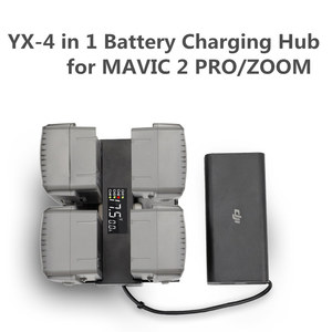 Image 1 - 4 In 1 Mavic 2 Battery Charger Hub Smart Multi Battery Intelligent Charging Hub Digit LED Screen for DJI Mavic 2 Pro/Zoom Access