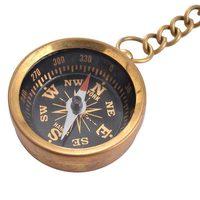 Compass Keychain New Arrival Steampunk Copper Retro Marine Compass Keychain 1839335