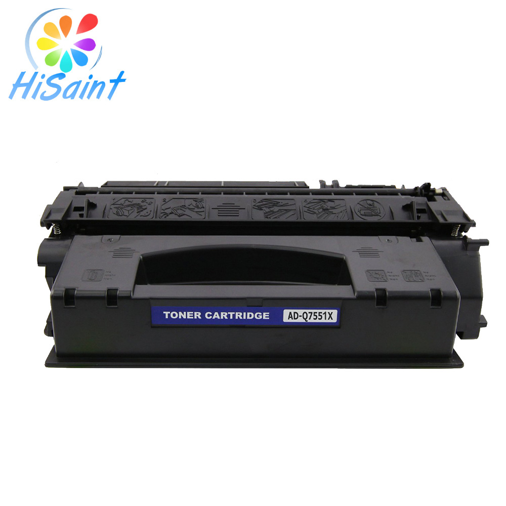 ФОТО Hisaint Listing Compatible Replacement for HP Q7551X Toner Cartridge High Yield For HP 51X Black (13,000 Page Yield) Hot Sale