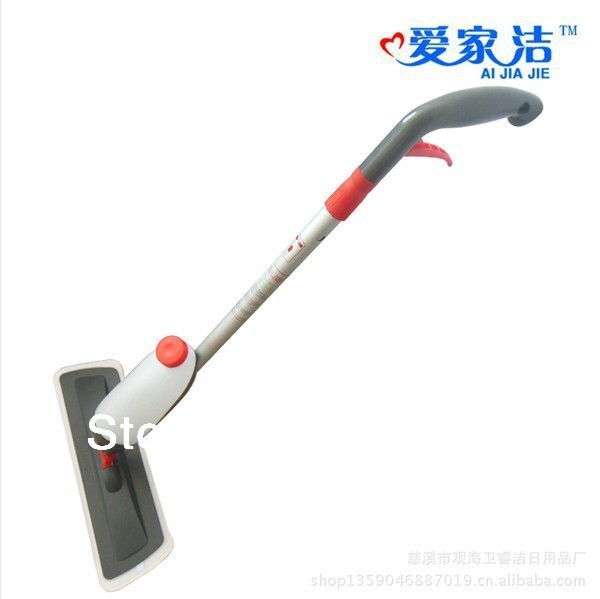 free shipping! retail hot sale AI JIA JIE flat wood floor electrostatic water magic rotating Cleaning Steam mop