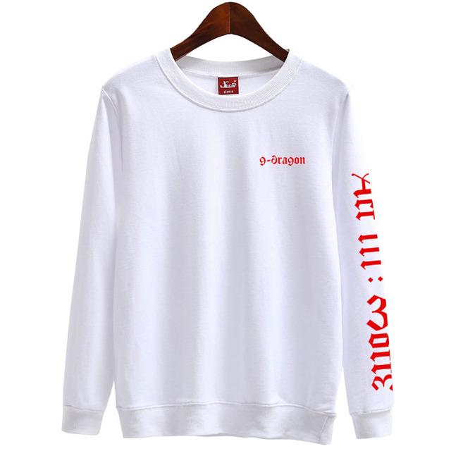 Big Bang G-Dragon Act III Pullover Sweater