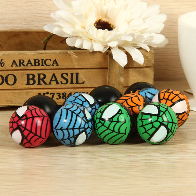 10 pcs Spiderman Bouncing Balls