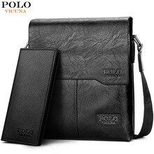 fa42f96405a5 Polo vicuna sac à bandoulière pour homme Classique Marque Hommes Sac  Vintage Style décontracté Hommes sacs