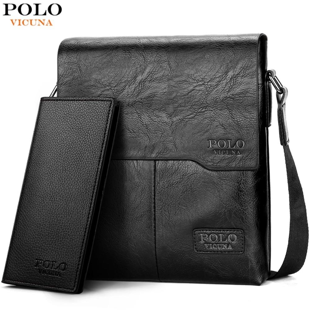 Vicuña POLO hombres bolsa de hombro clásico de los hombres de la marca de bolsa de estilo Vintage de los hombres ocasionales bolsas de mensajero promoción bolso hombre caliente vender