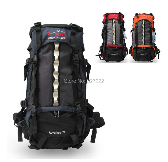 Hiker Backpack Mountaineering Bag Heavy Duty Internal Frame ...