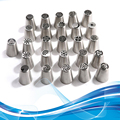 Cake Tools Stainless Steel Icing Piping Nozzles Tips Fondant  Cake Decorating Biscuits Bakeware Baking  Pastry Tools  DIY