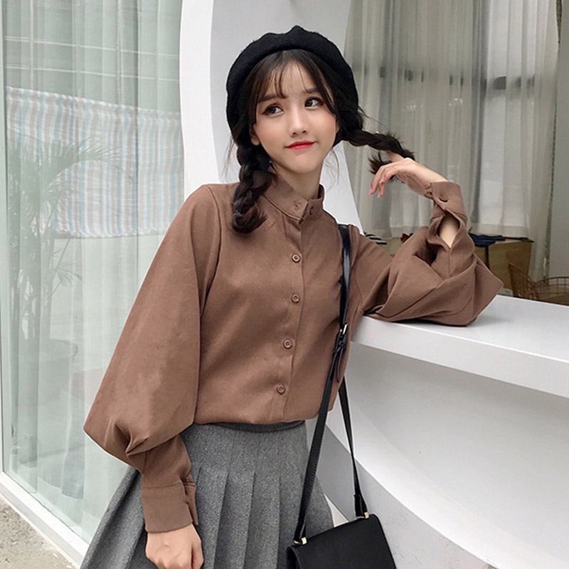 Cheap Wholesale 2018 New Spring Summer Hot Selling Women's Fashion Casual Ladies Work Shirts G74