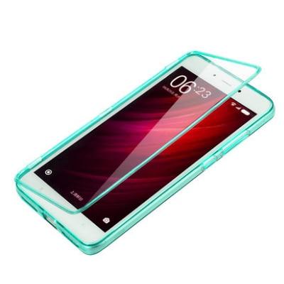 san francisco 9dfd6 e39d6 US $12.0 |xiaomi redmi note4 case High quality 100% transparent material  Flip TPU Back cover For xiaomi redmi note4 note 4 Phone Bag cases-in Flip  ...