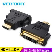 Vention HDMI DVI Adapter 1080P HDTV Converter Male to Female Bi-Directional Connector for PC PS3 Projector TV 24+5