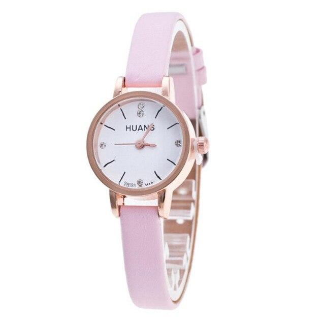Minimalist Fashion Woman Fine Strap Watch Travel Souvenir Birthday Gifts Relogio Feminino Women Watches Reloj Mujer Bayan Kol