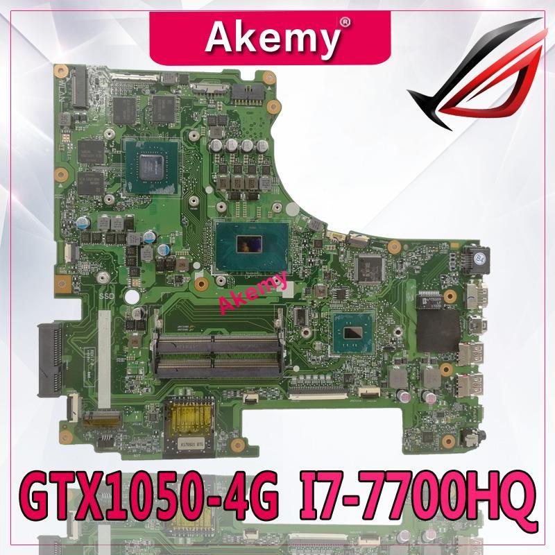 Exchange!!! ROG Laptop Motherboard For ASUS GL553VD GL553VE GL55VW GL553V GL553 Original Mainboard GTX1050M GTX960M I7/i5 Cpu