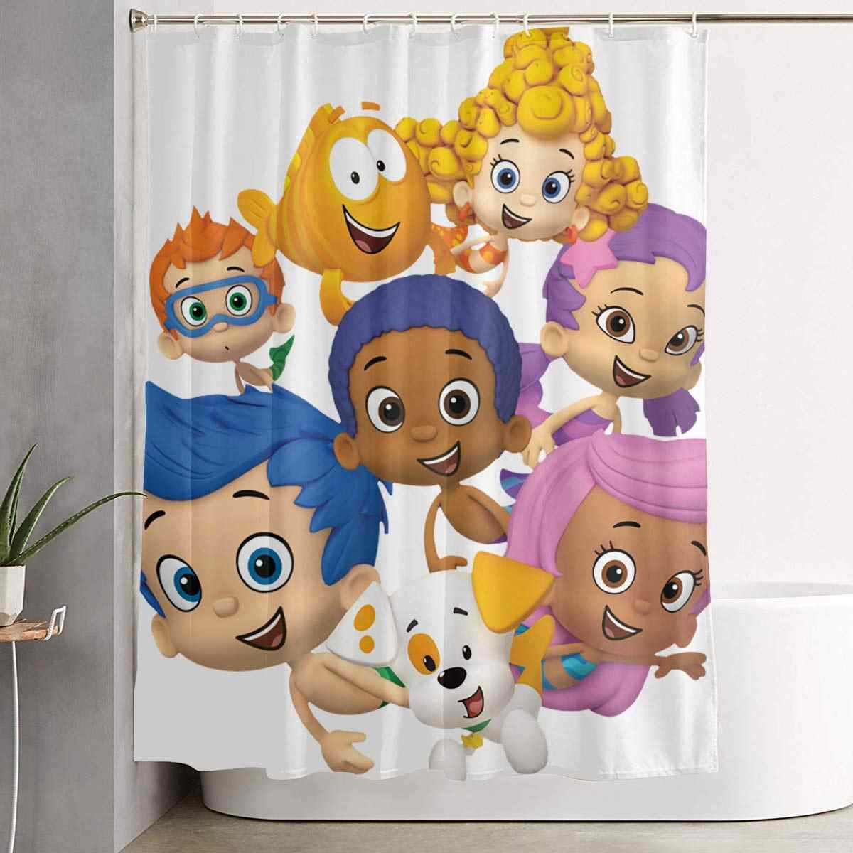 . Detail Feedback Questions about Crazy Popo Bubble Guppies Bathroom